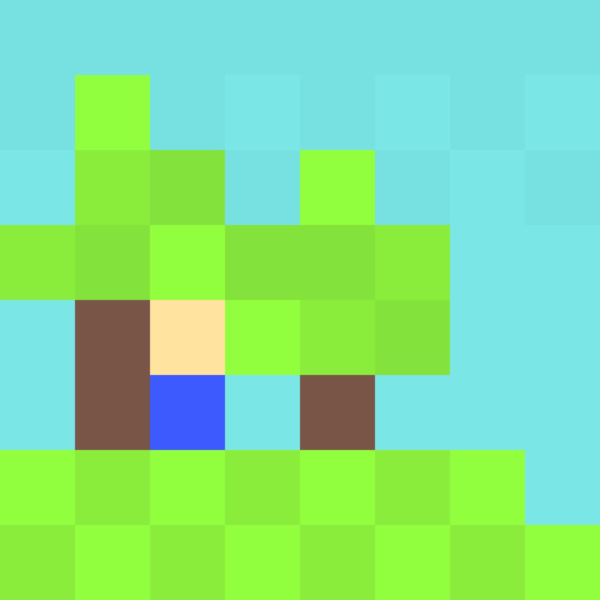 8 pixels  by Randomlife12