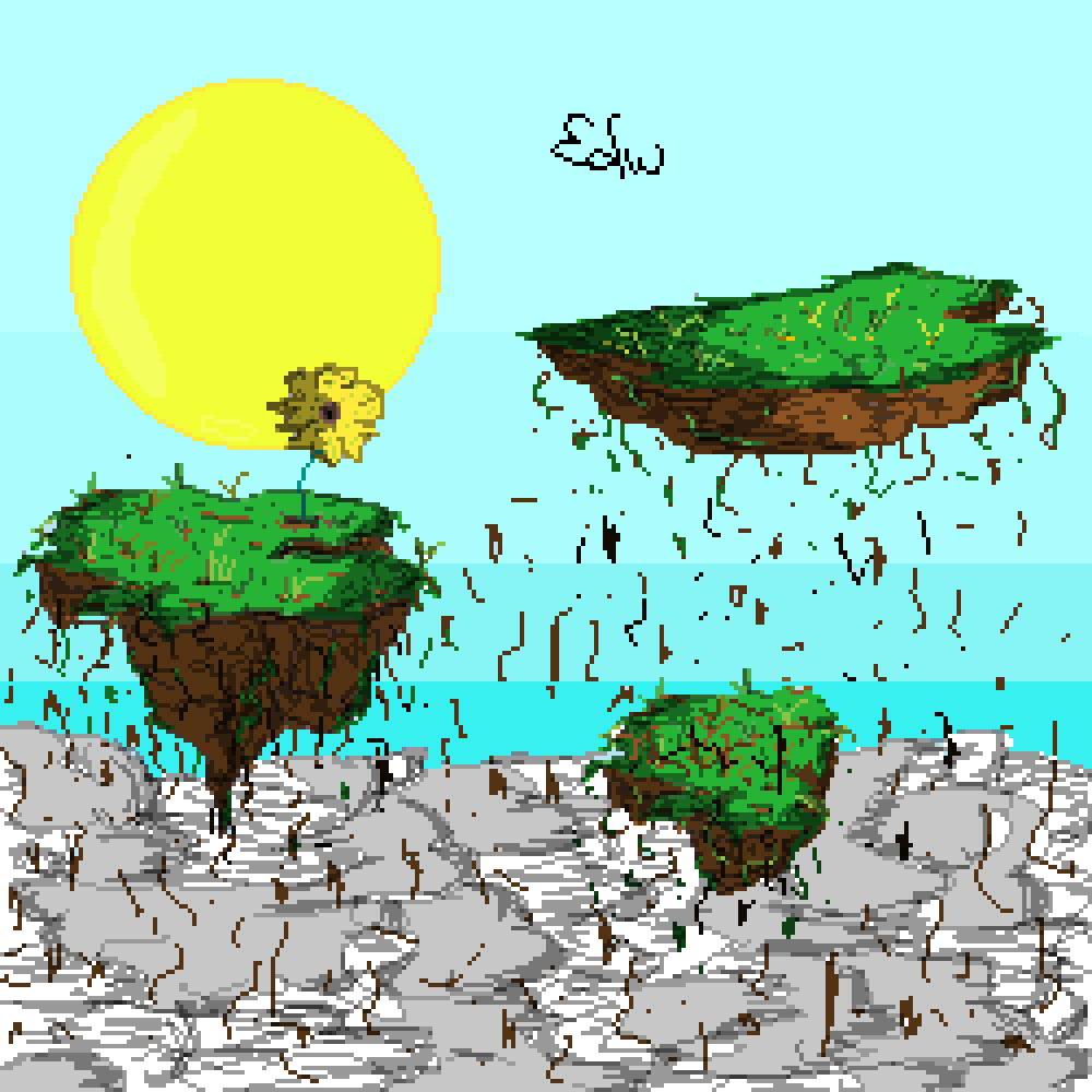 floating earth by edward