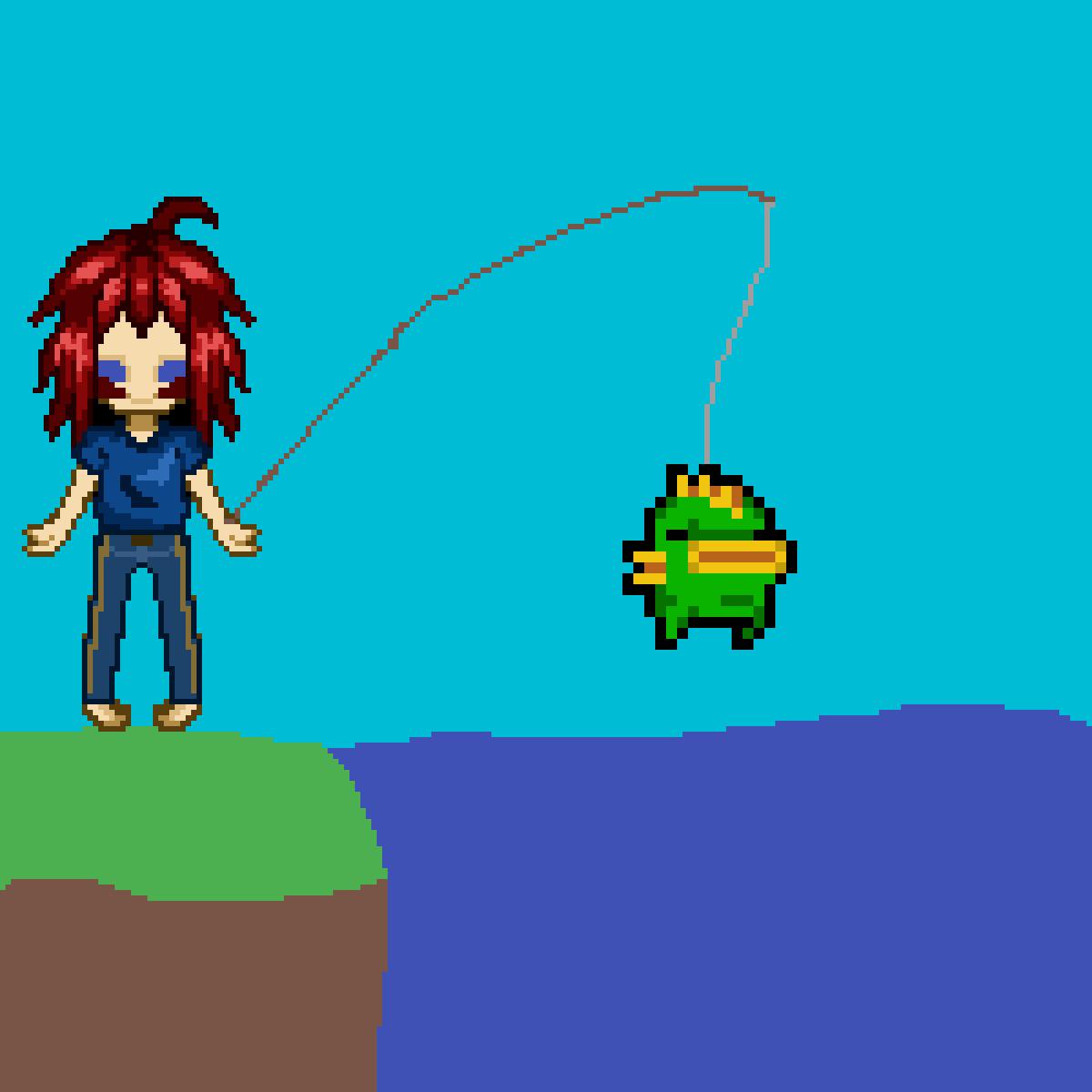 fishing by Sammmmmmmmmmmmm