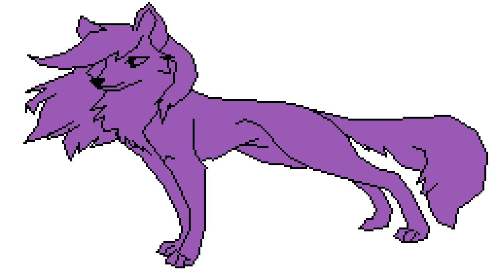 main-image-purple wolf  by Depressed-angel