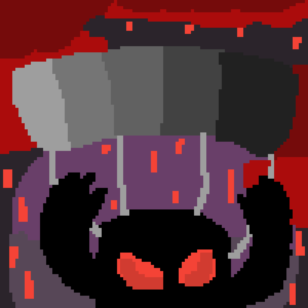 main-image-Bird Monster Parachuting down in a Bloody Rain Storm  by FatherDitto