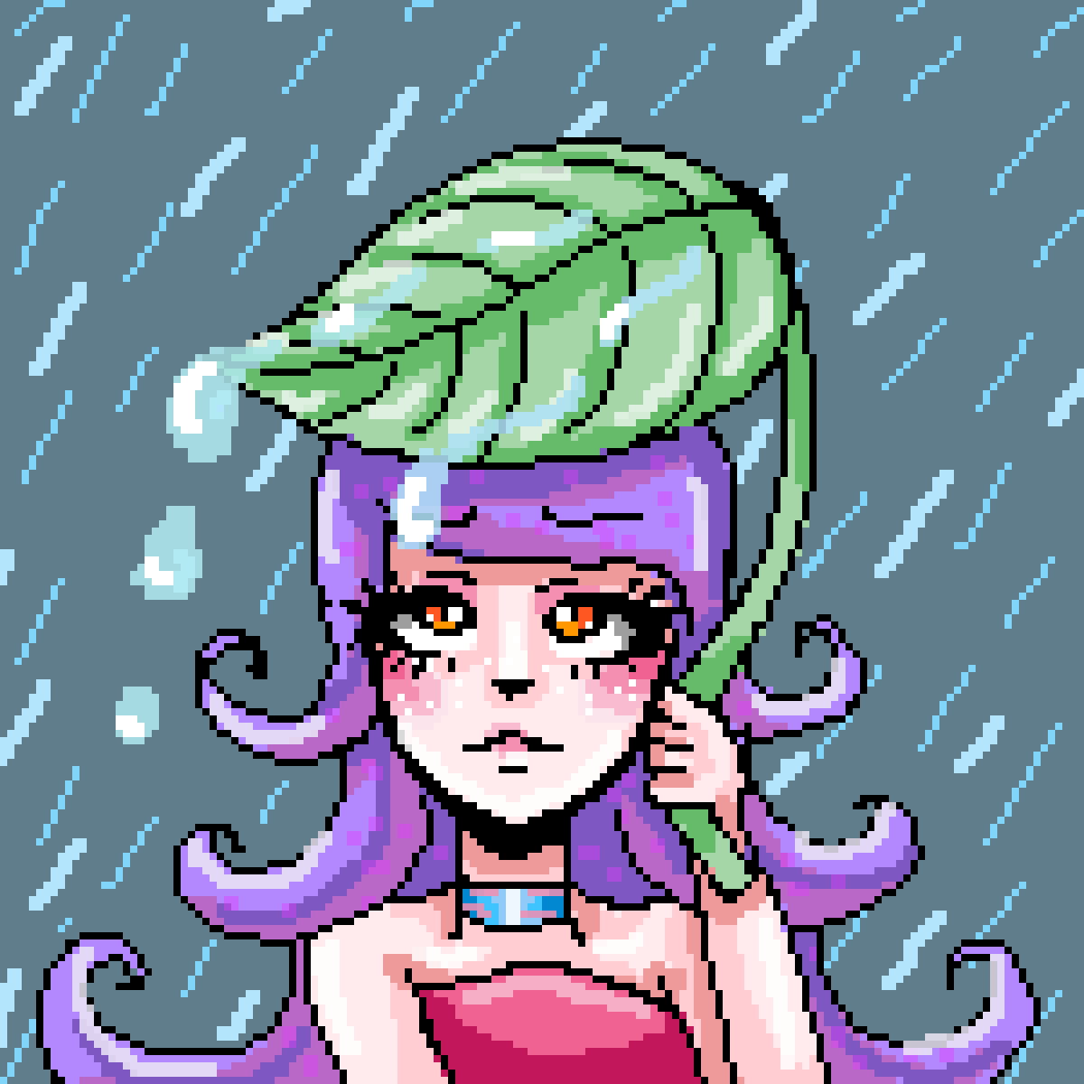 leaf umbrella by alinamon