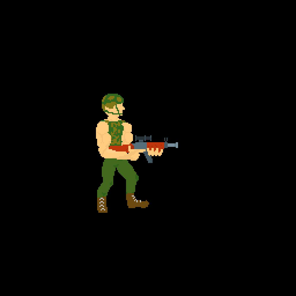 main-image-Person Holding Gun  by Caelen