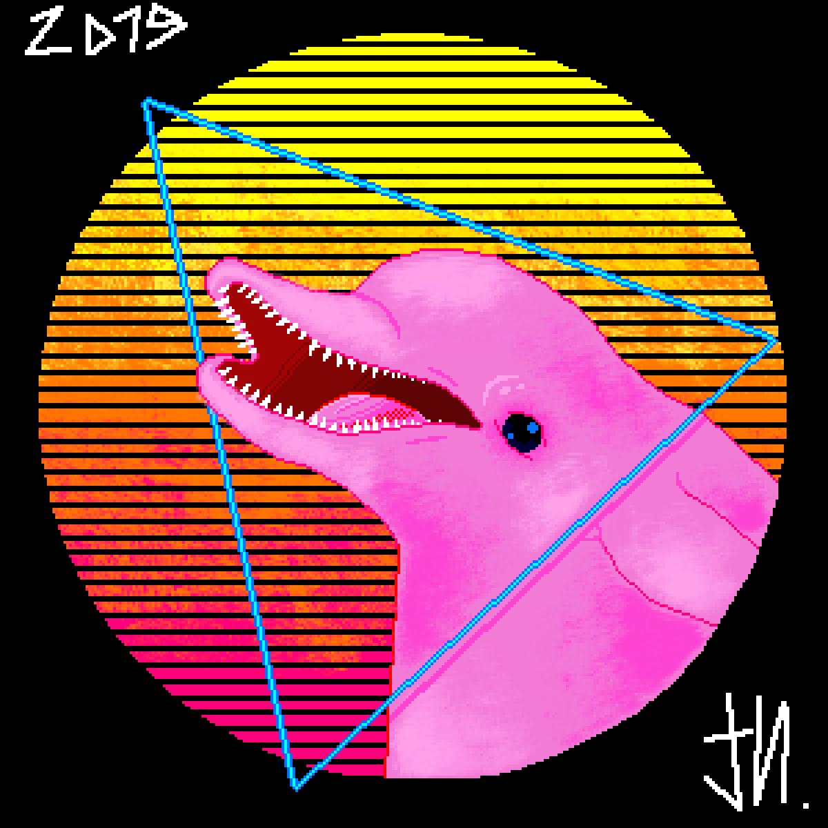 Dolphin by InnaDrawer