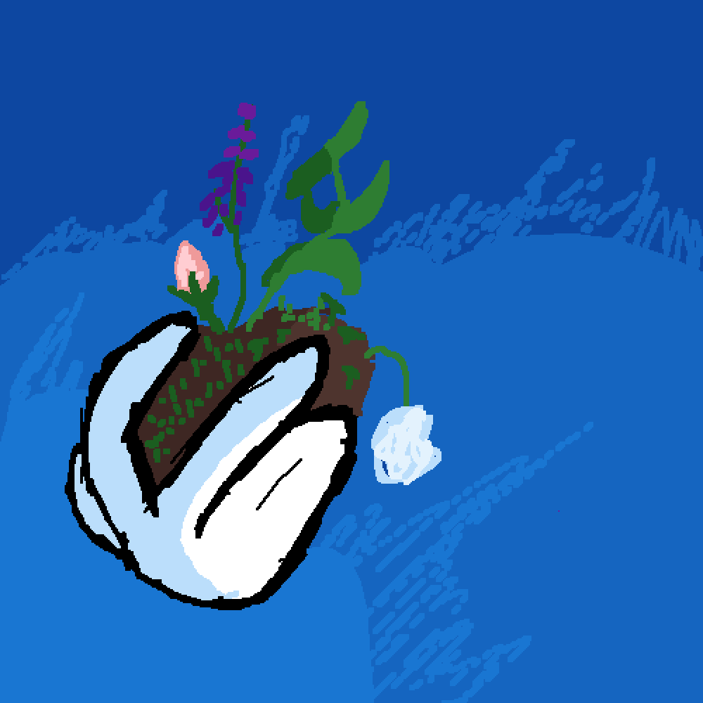 did a plant thing by SpacelessVoid