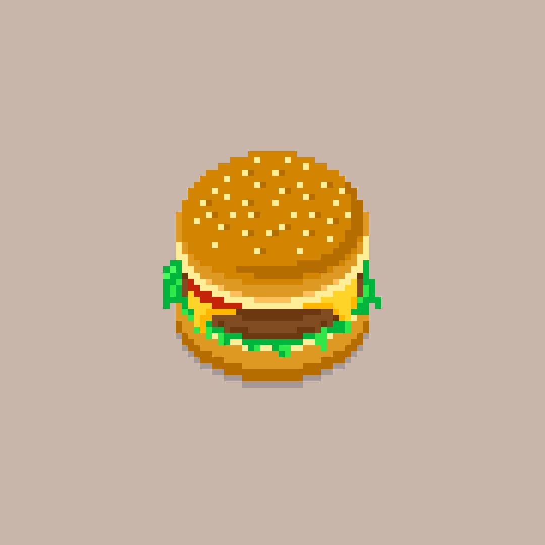 'tis a burger by crispyensemble