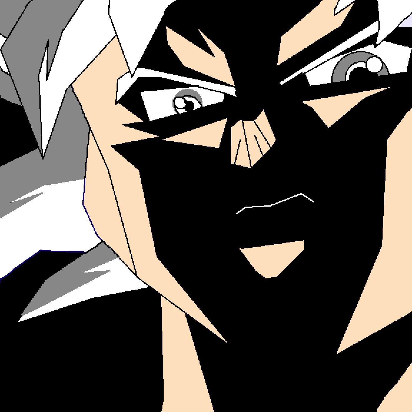 MUI Son Goku (Failed Drawing)
