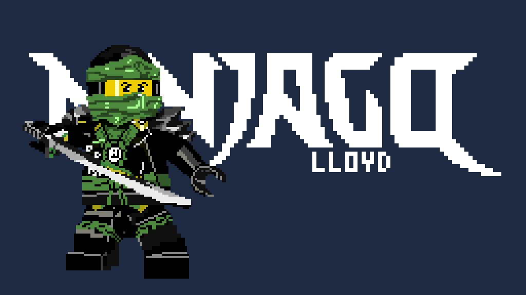 Pixilart - LEGO Ninjago Lloyd (Ghost Costume) by Impulse