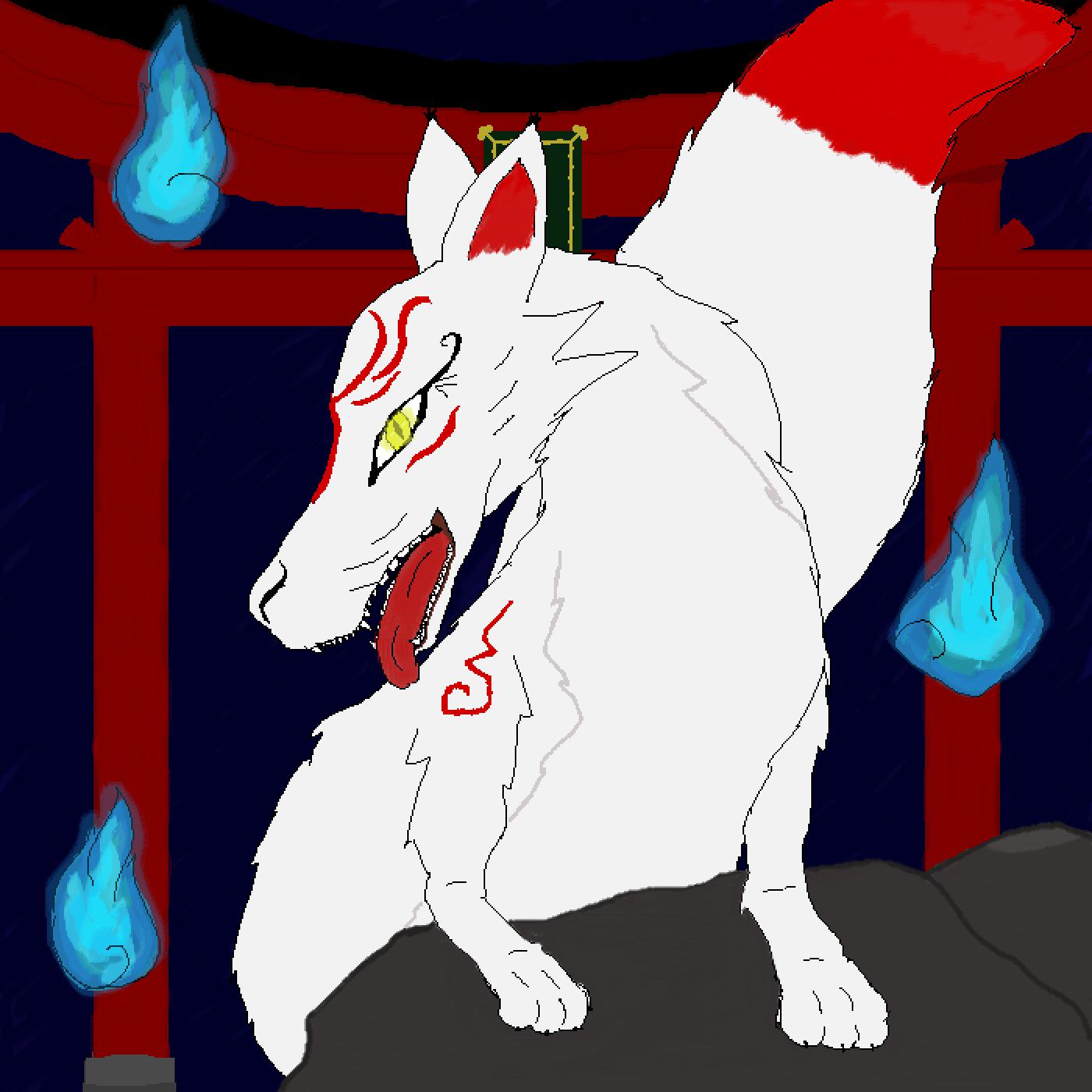 Inari Fox by moochibean