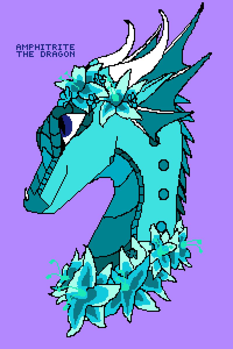 amphitrite the dragon by Uzzi11