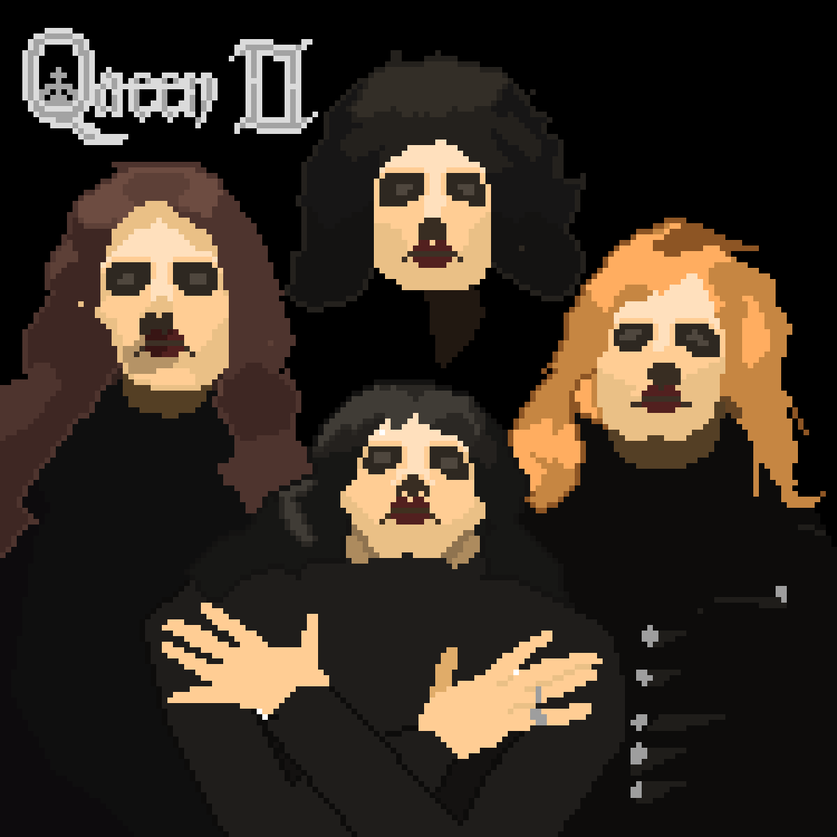 Pixilart - 8-Bit Queen 2 album cover by OreoMikeyKing50