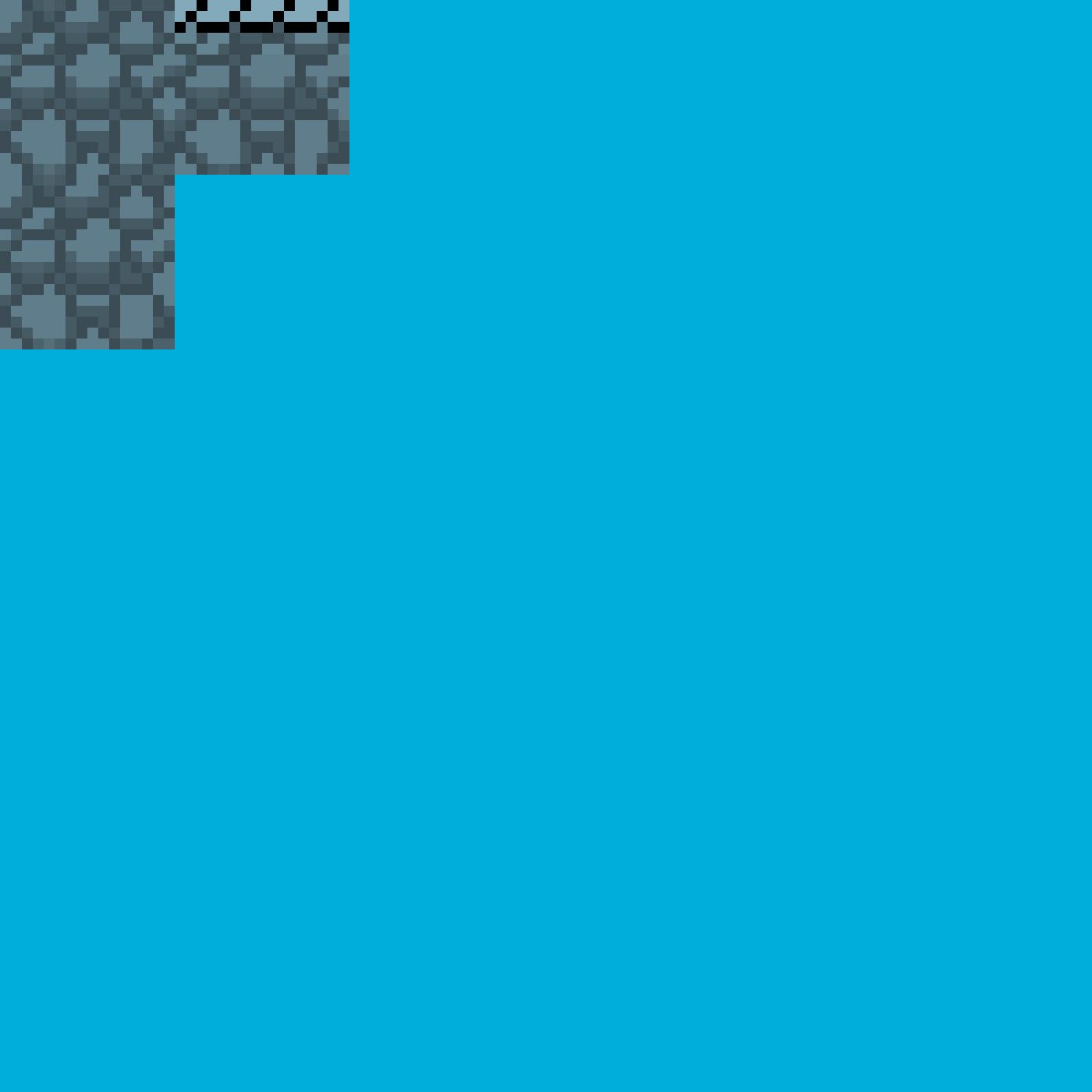 Pixilart - Pixel art Tiles (cobblestone) by Anonymous