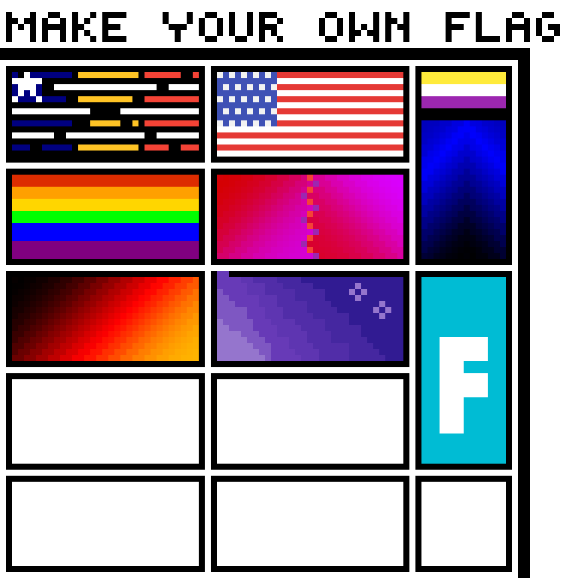 Make your own flag by ruth5123