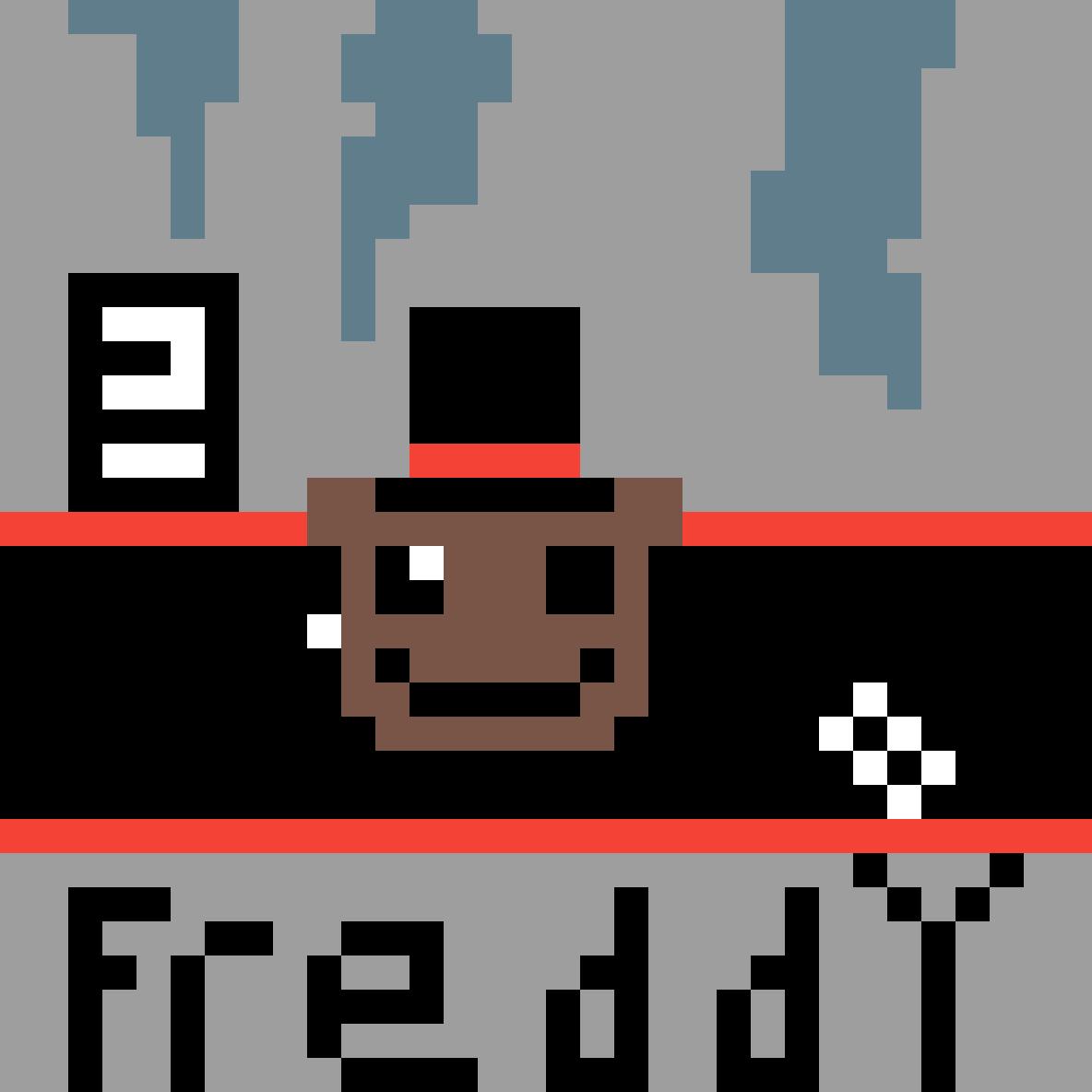 Freddy fazbear by GlueGamer
