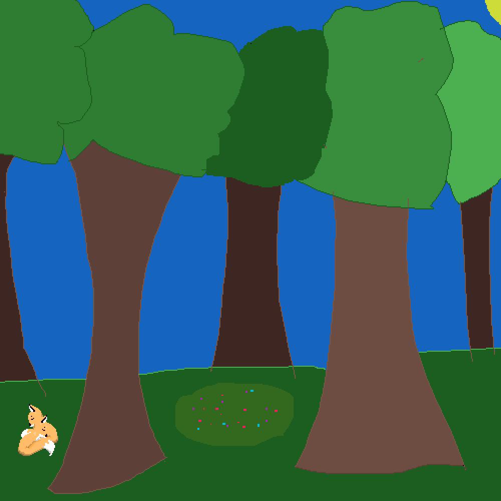 cute forest  by XXGamerWolfXX