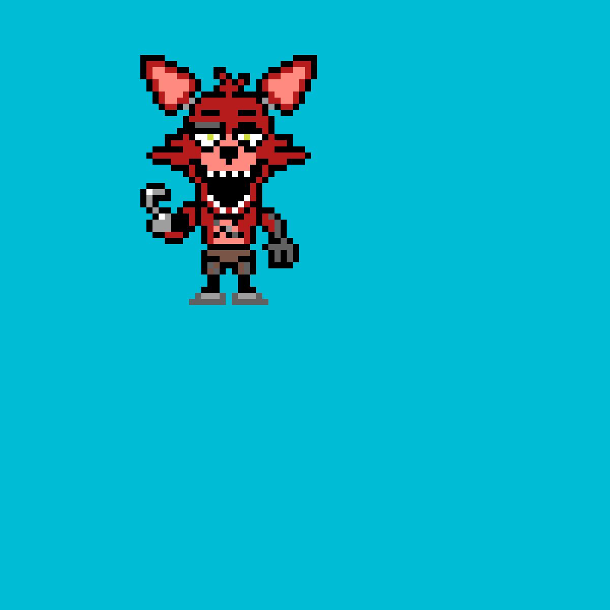 Foxy the Pirate Fox by TheTrueCandy