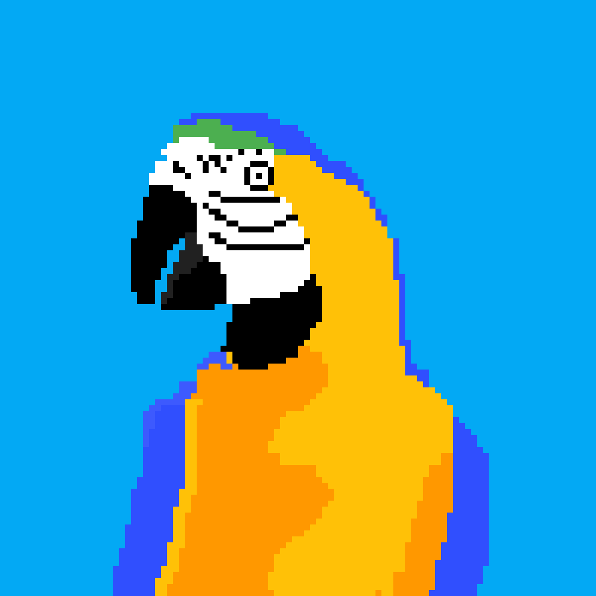 main-image-blue and yellow macaw  by Walrus64