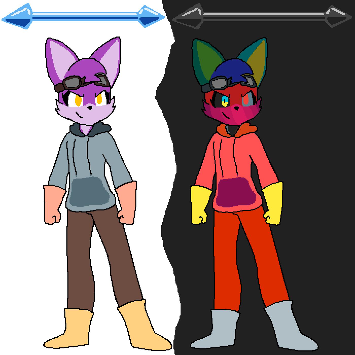 Nira, My Arctic Fox OC