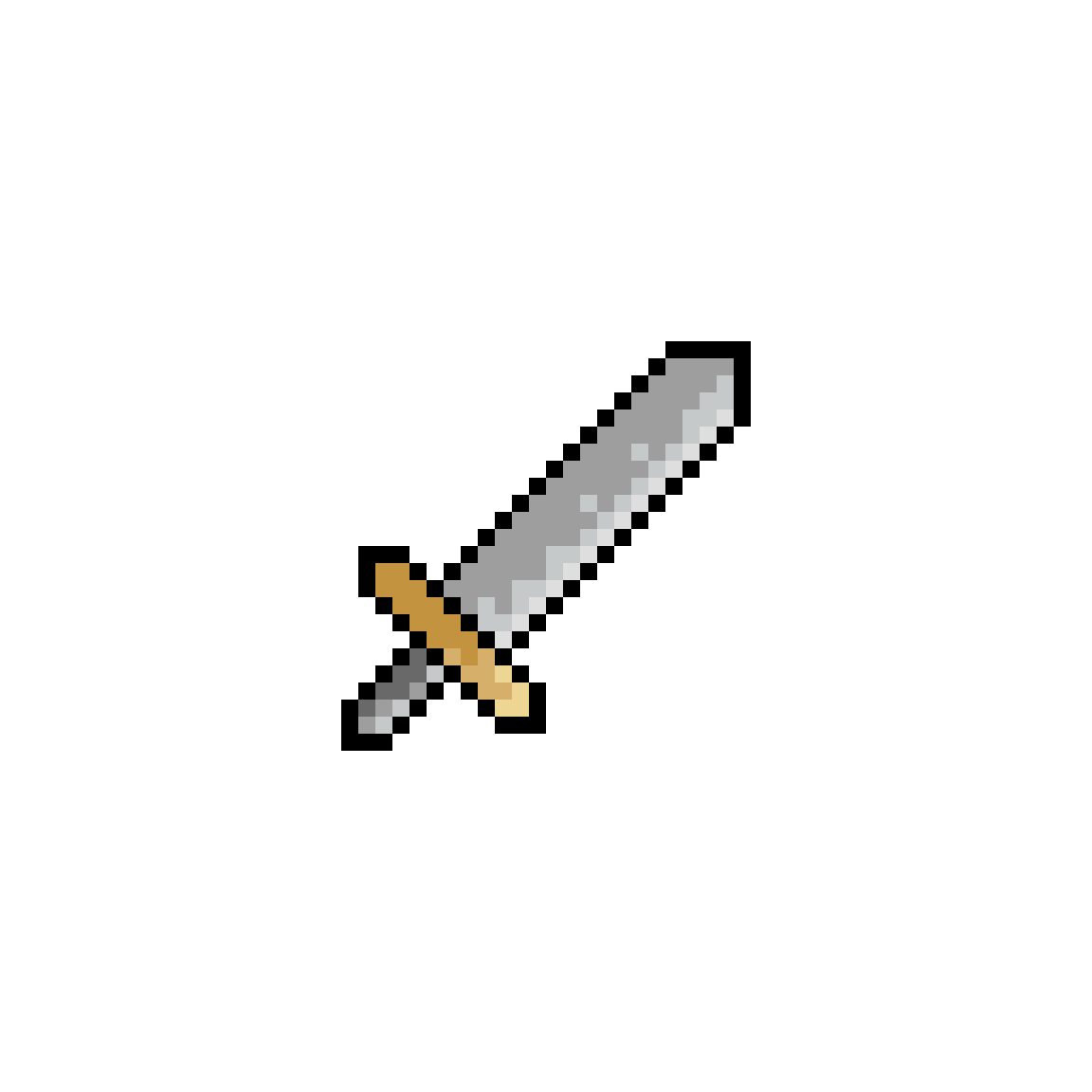 Simple Pixel Sword By LazerGaming