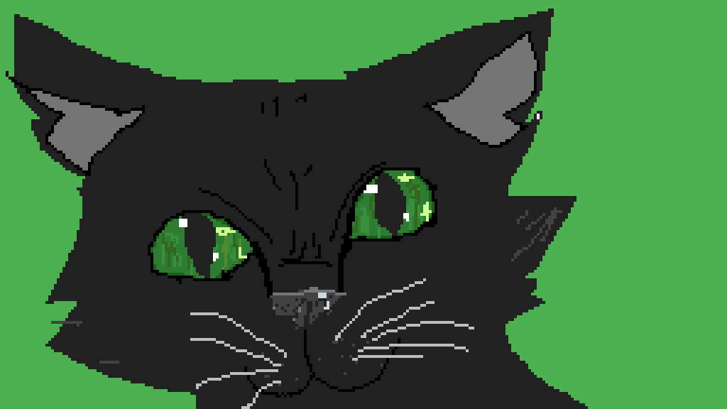 warrior cat by Meekly