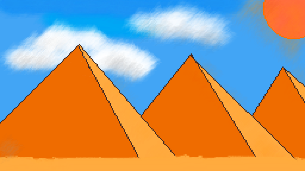 main-image-the pyramids  by lexymaster