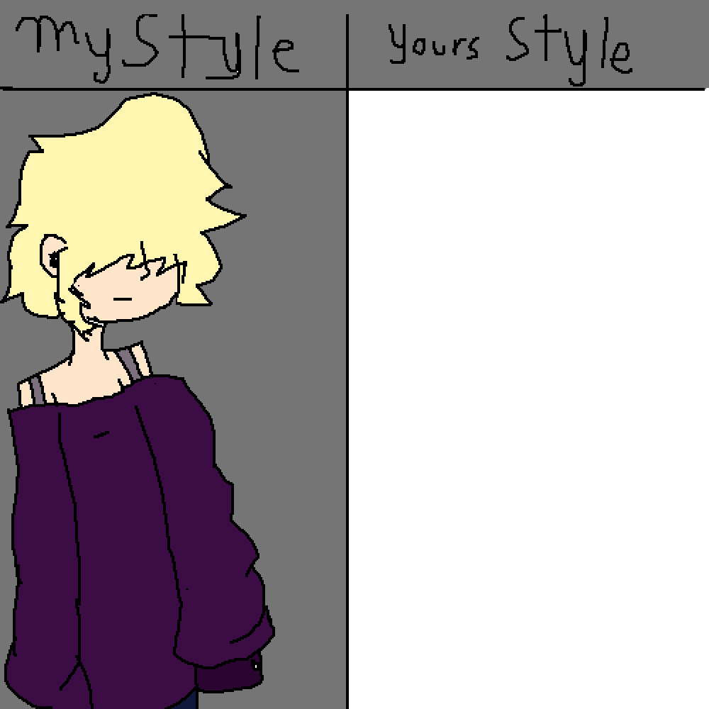 my style your style :3 by EvedeeGames