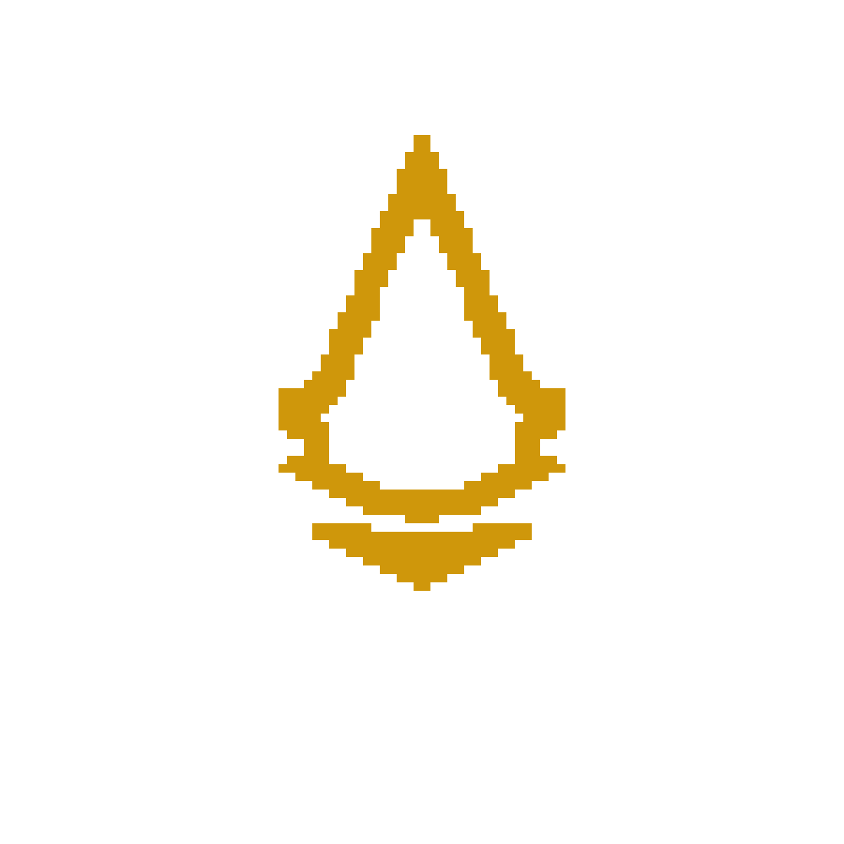 Pixilart Assassin Creed Symbol Gold By Koolkorben
