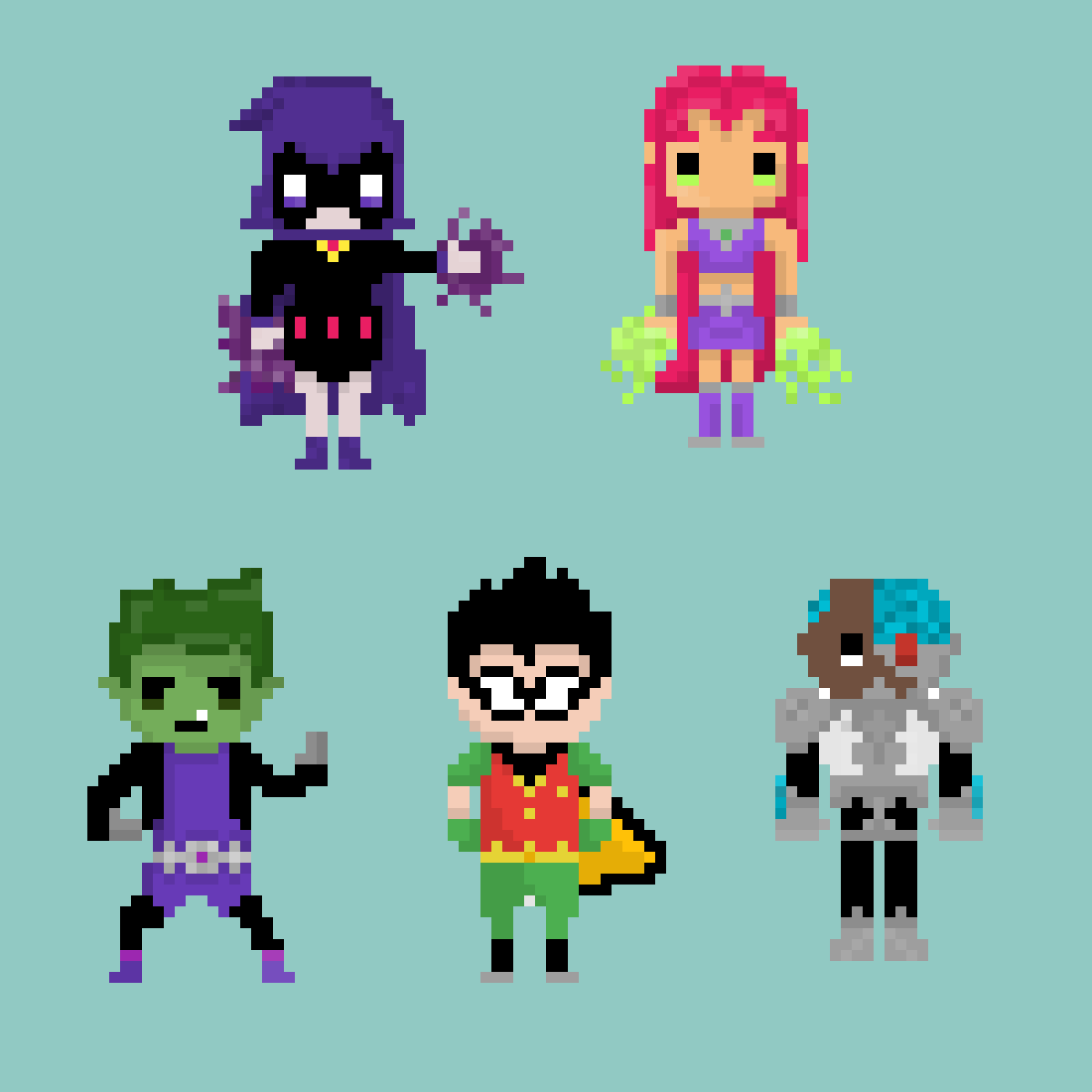Teen titans by Pawesome