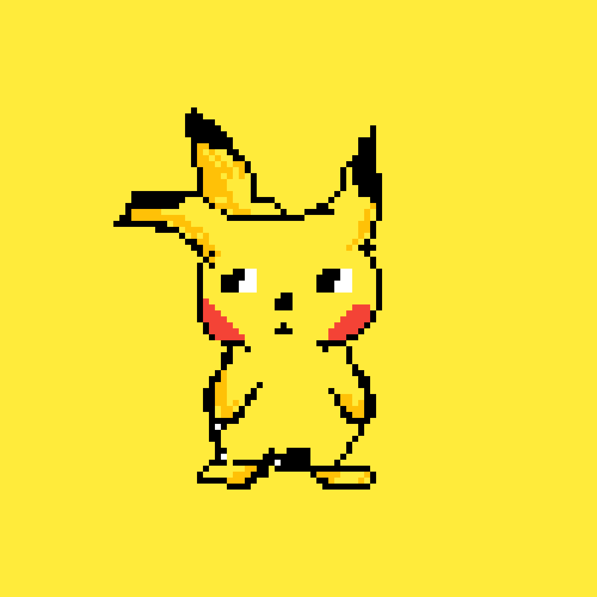 Pikachu by moonlanesan