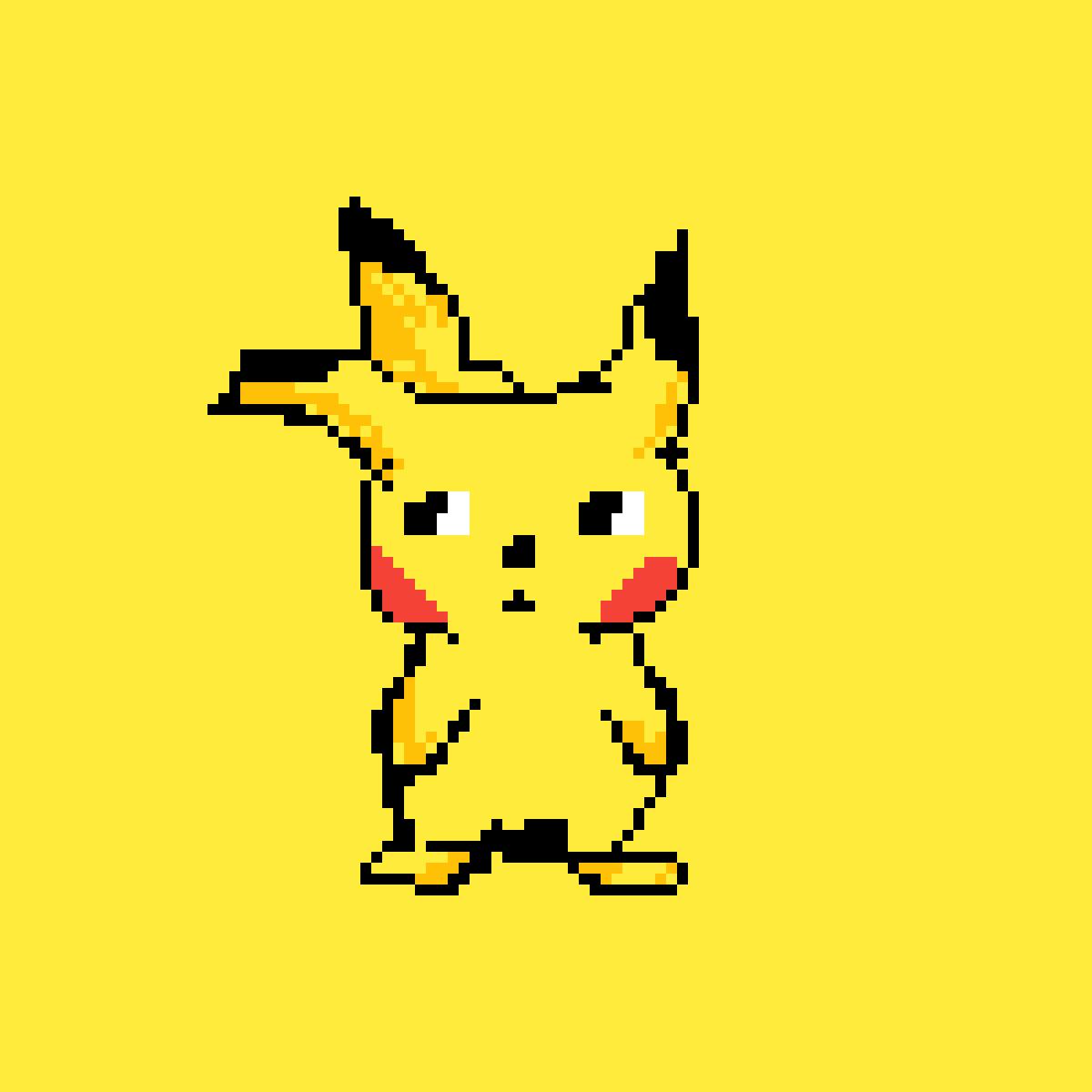 Pikachu by moonlanesan