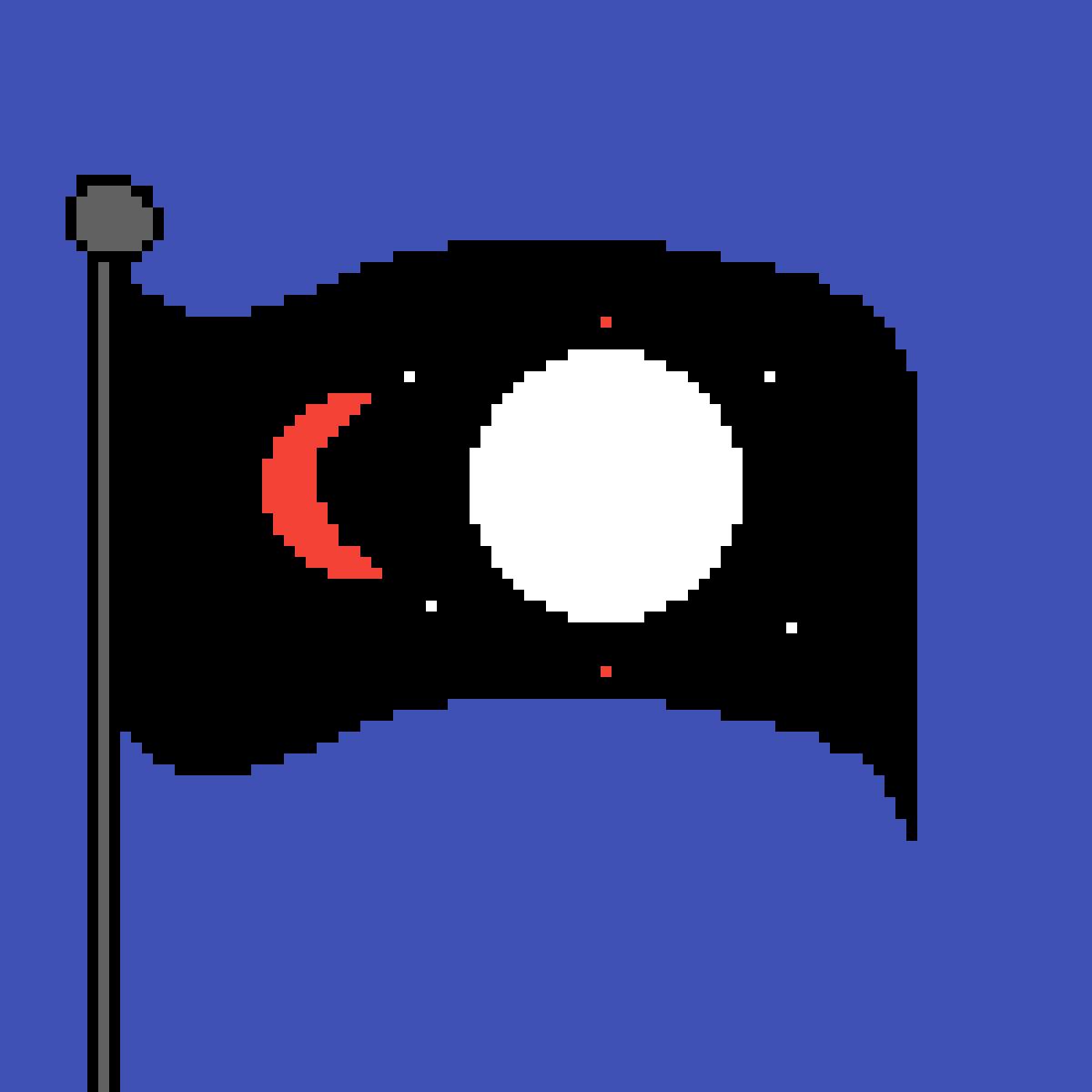 Mars Flag? by Cendra
