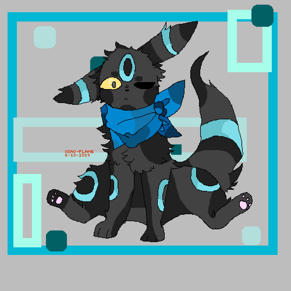 shiny umbreon by Xiao-Flame
