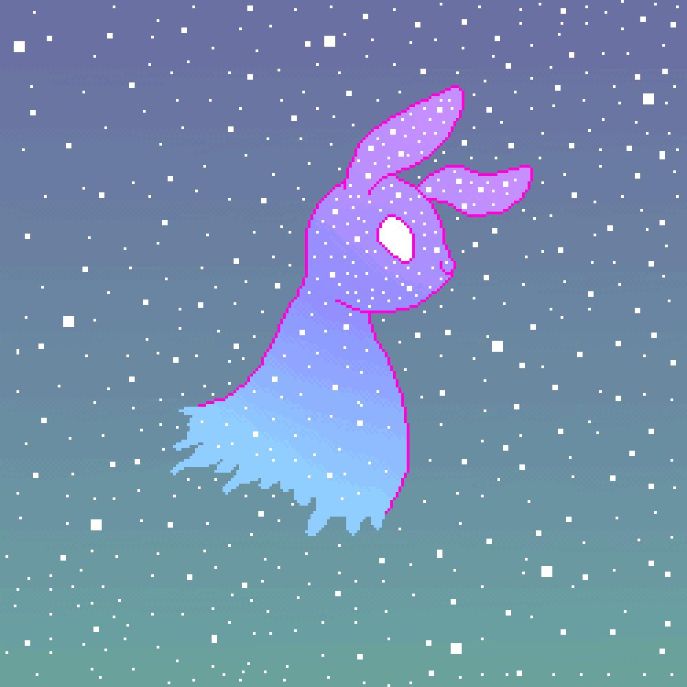 Galaxy Bunny :3