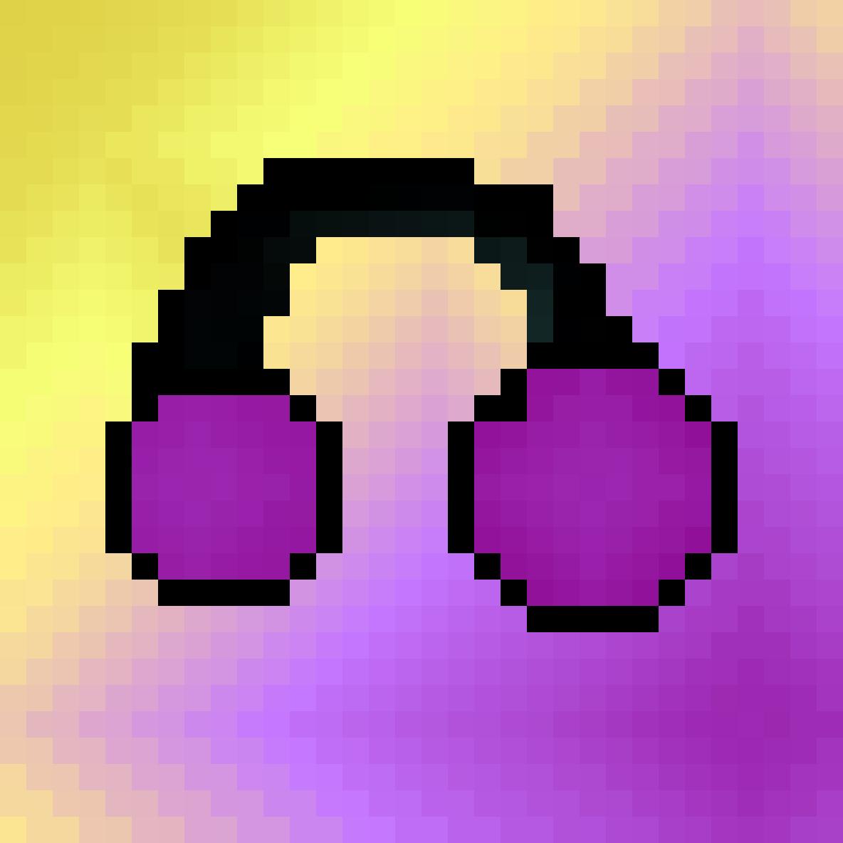 Poyple Headphones by Pscicicdragon00