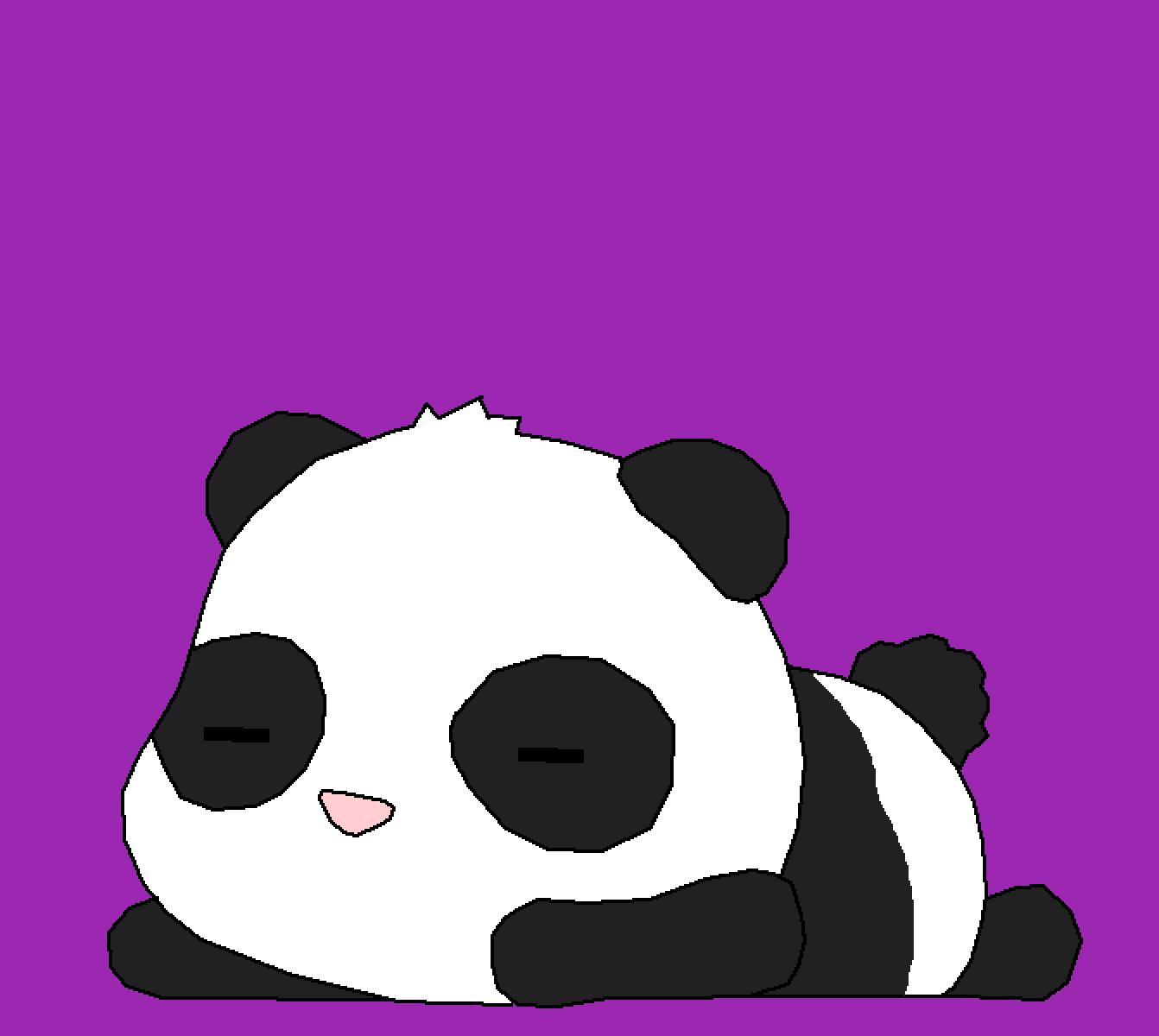 Panda by WAFFLELUV