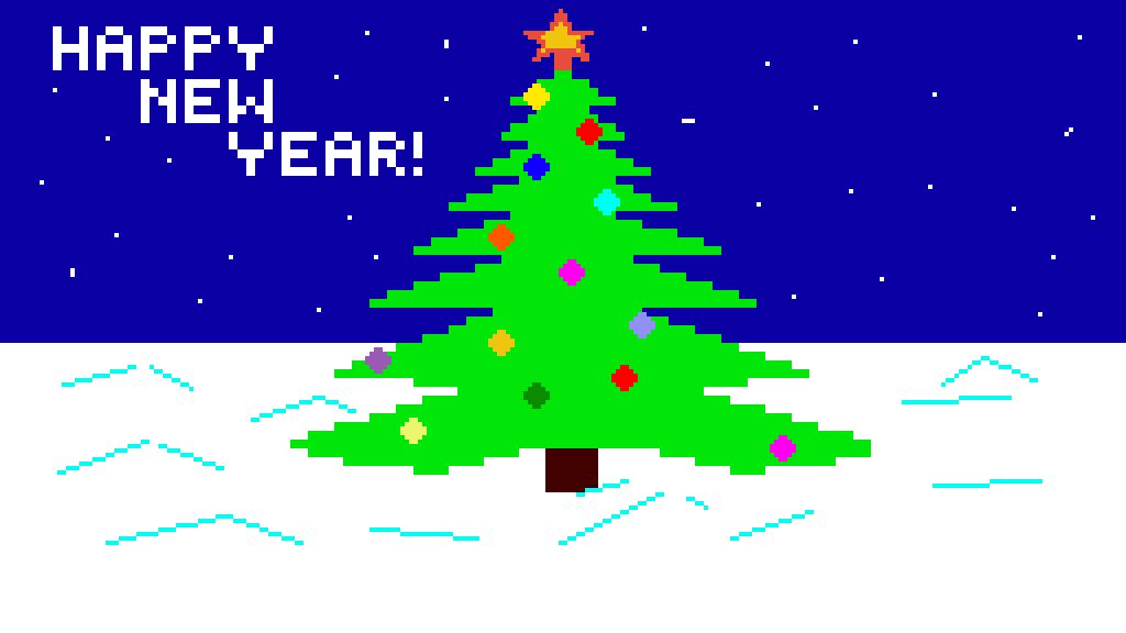 Happy new year by JuliyPixilart