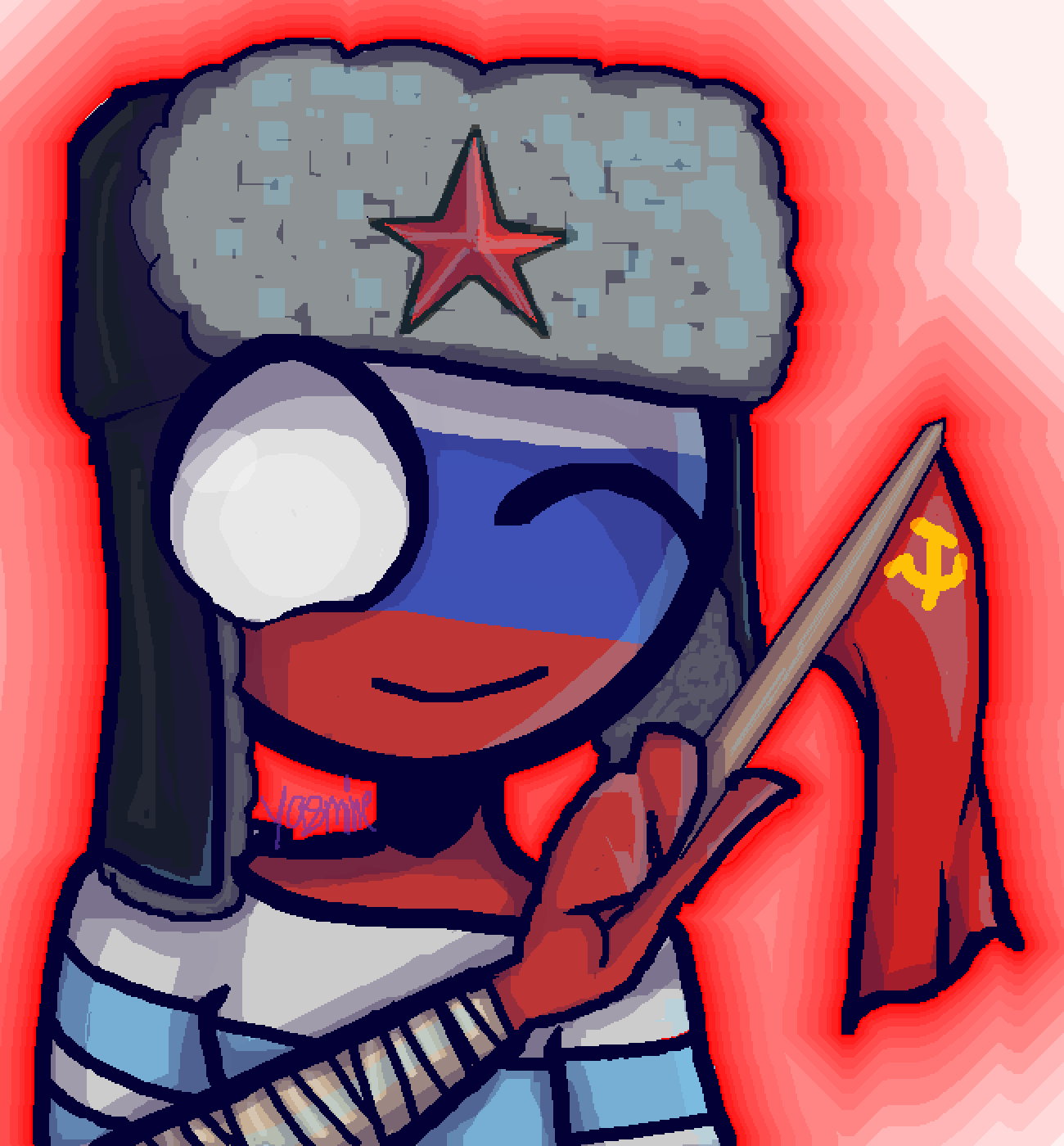 Russia-San by YasRocks