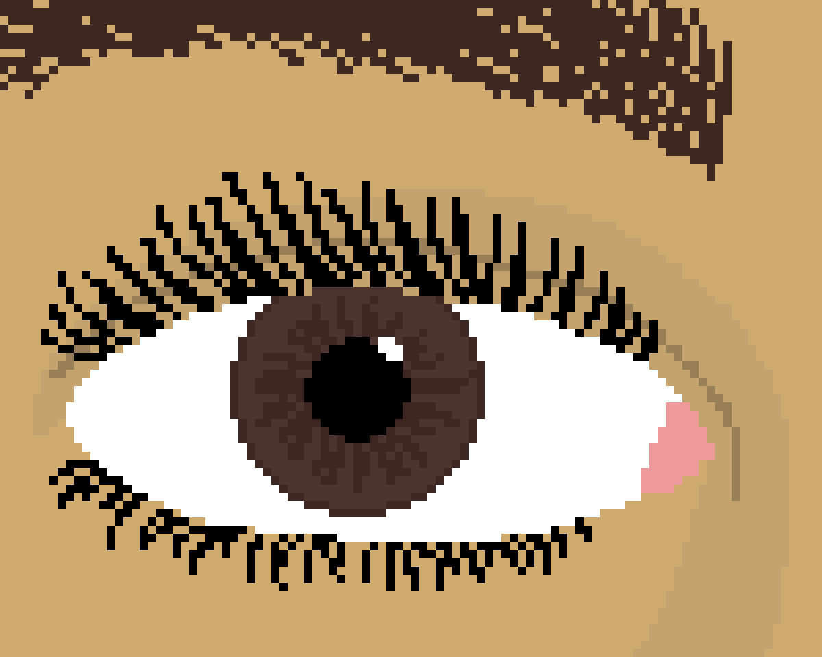 Brown Eye by Floof