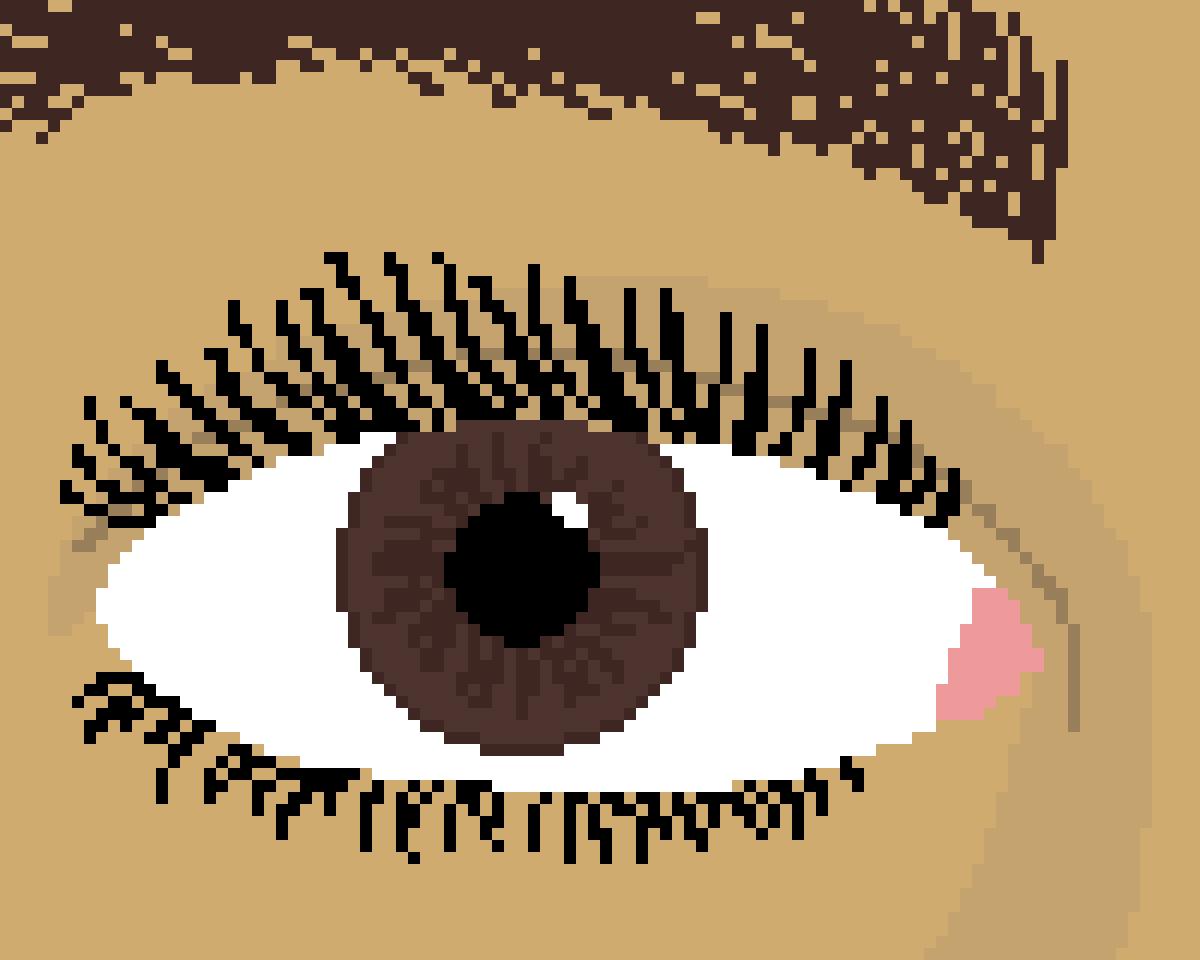 Brown Eye by Floof