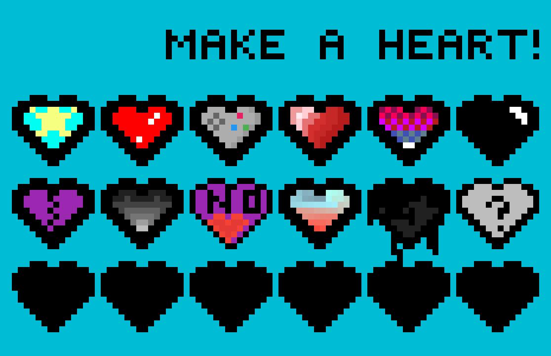 Random hearts... by RusAme