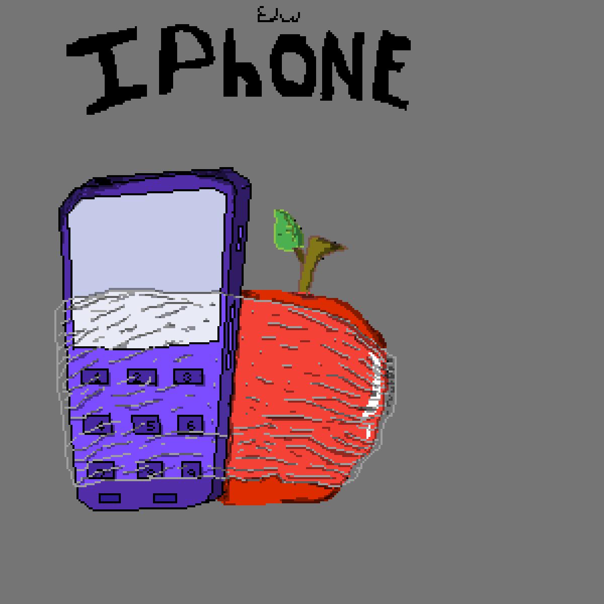 Iphone :v by edward