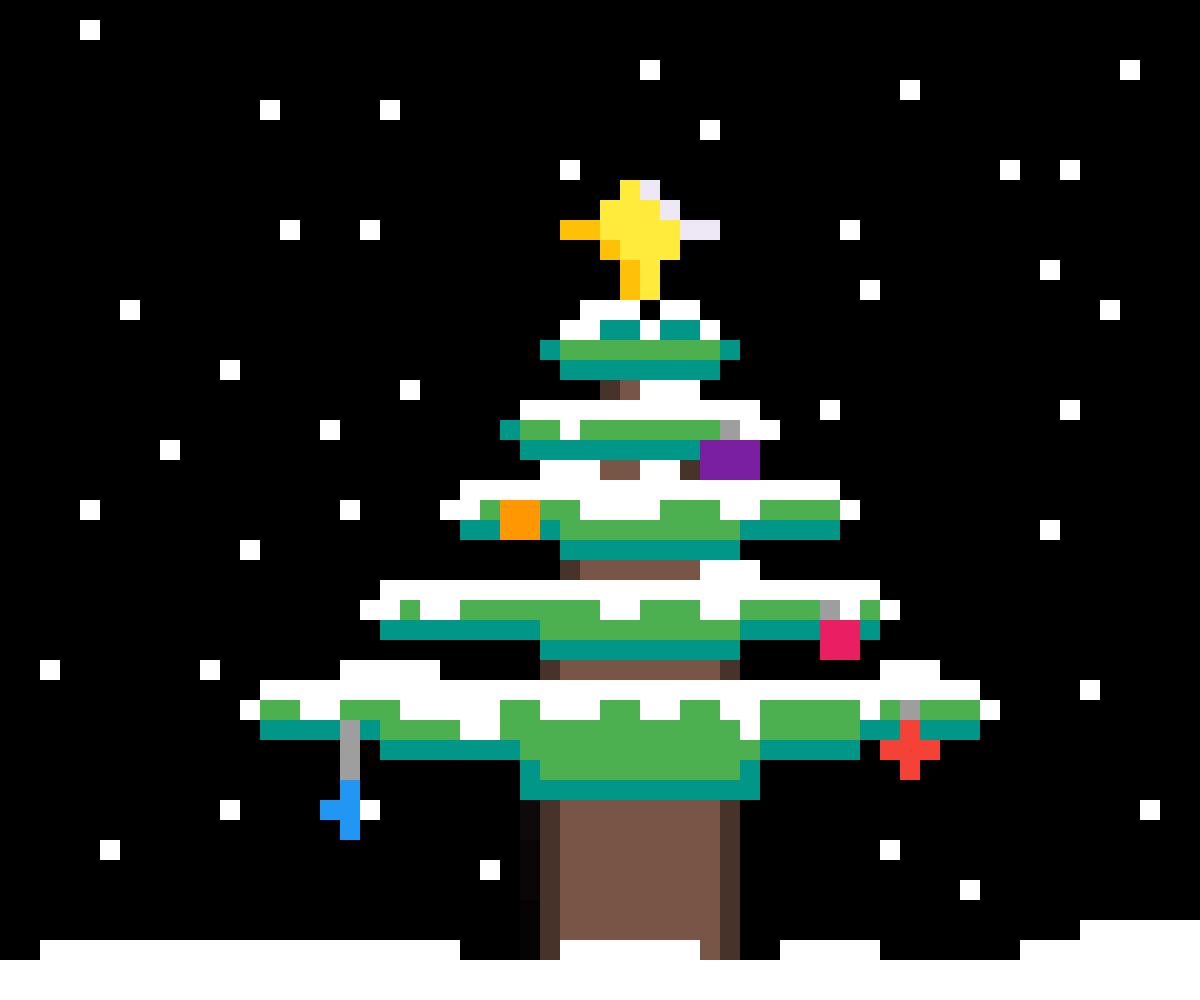 Christmas tree by Blackcreeper