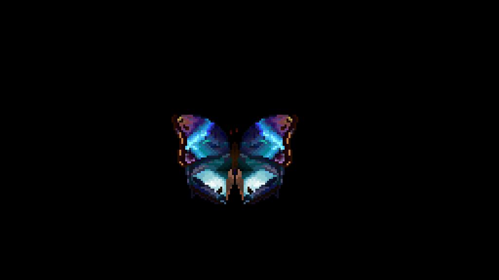 Blue Butterfly by Tsunadia