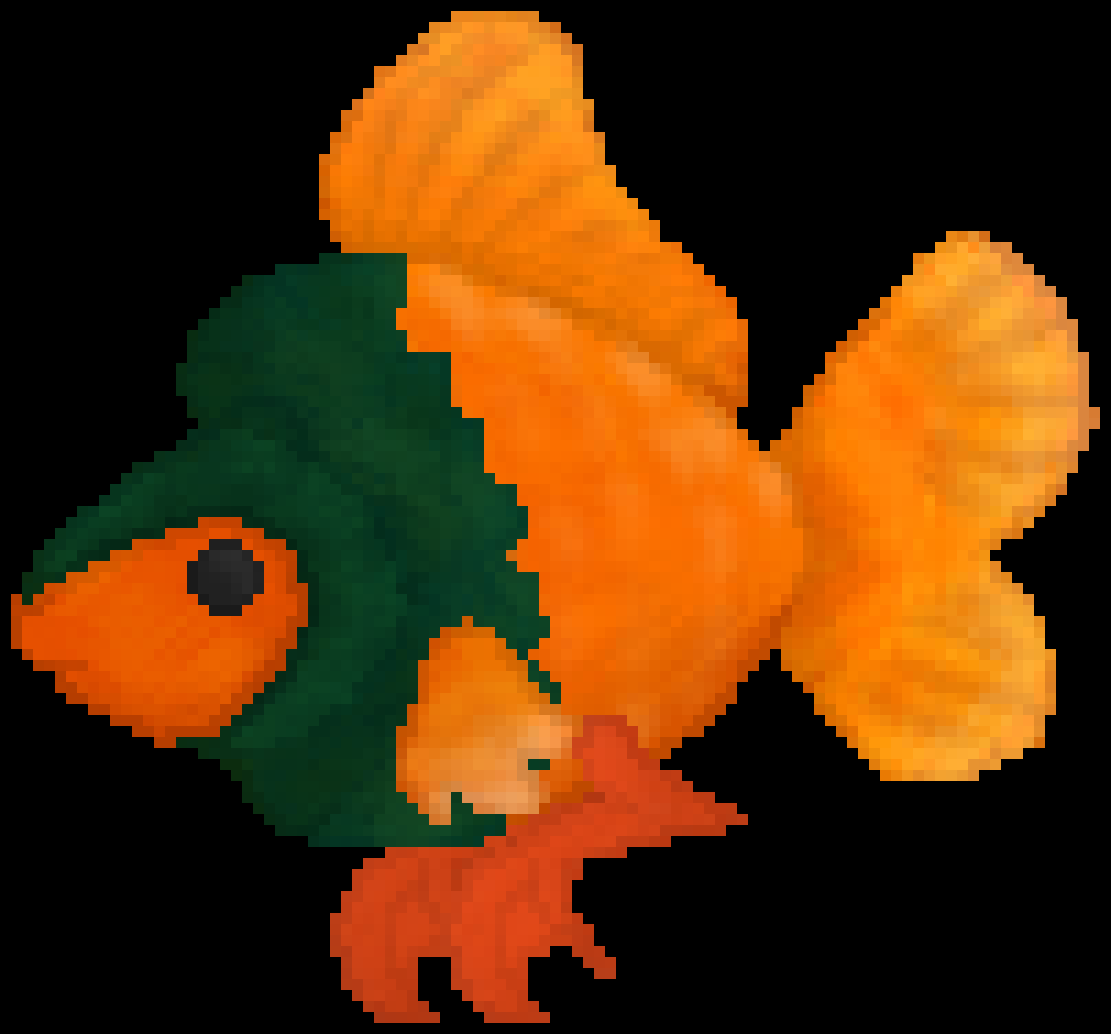 Discord Request: Duck-Fish by HgMercury73
