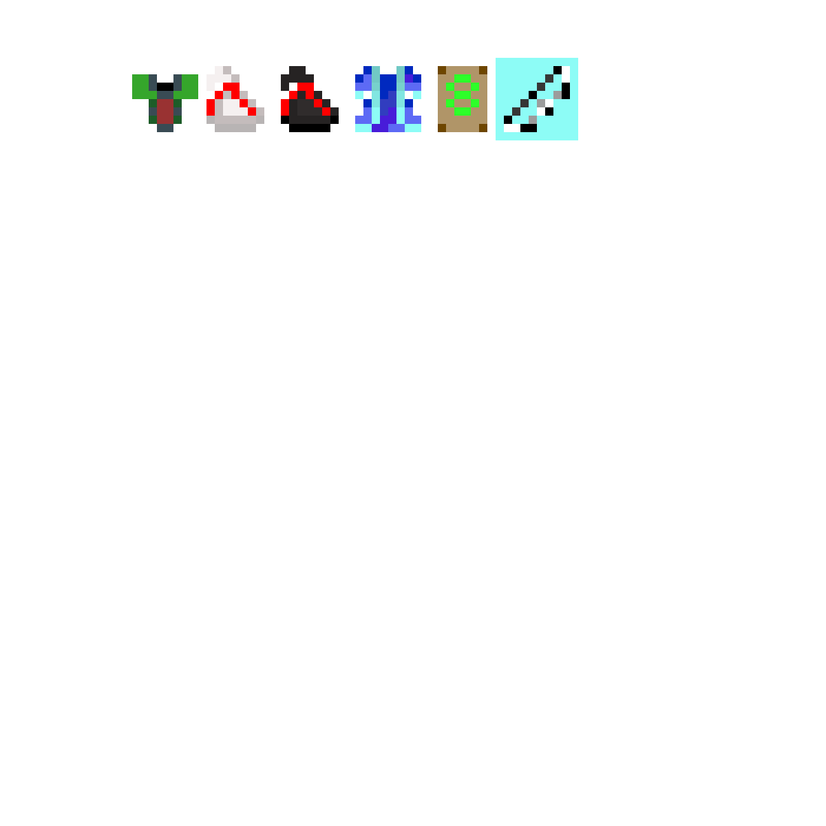 Pixilart - rotmg items by Anonymous