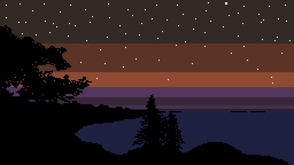 main-image-Lake at night  by percautio
