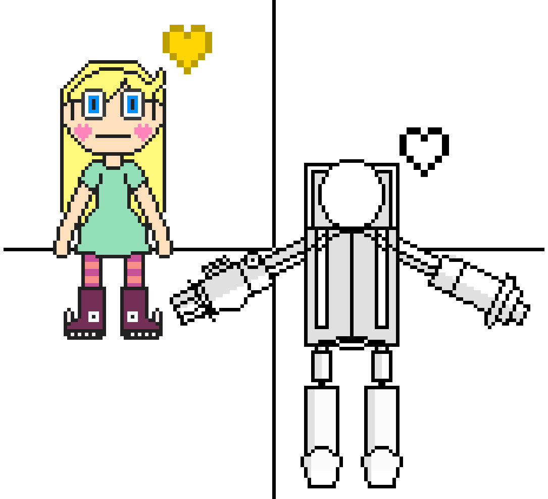(HUGE W.I.P.) Butterfly Star and Heavy Armed Robot Capt by GrandAM67
