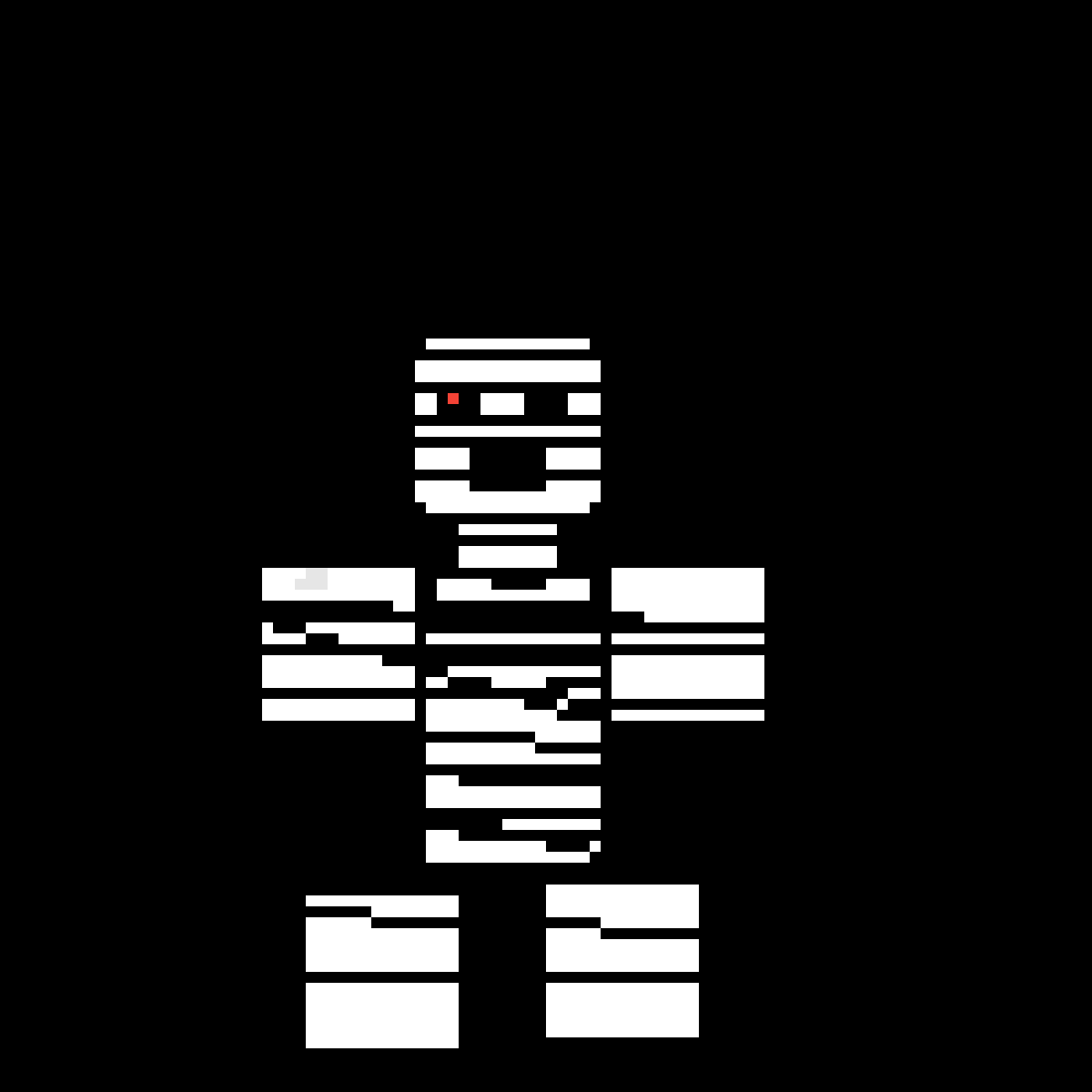 My oc, white dude by PLZU840