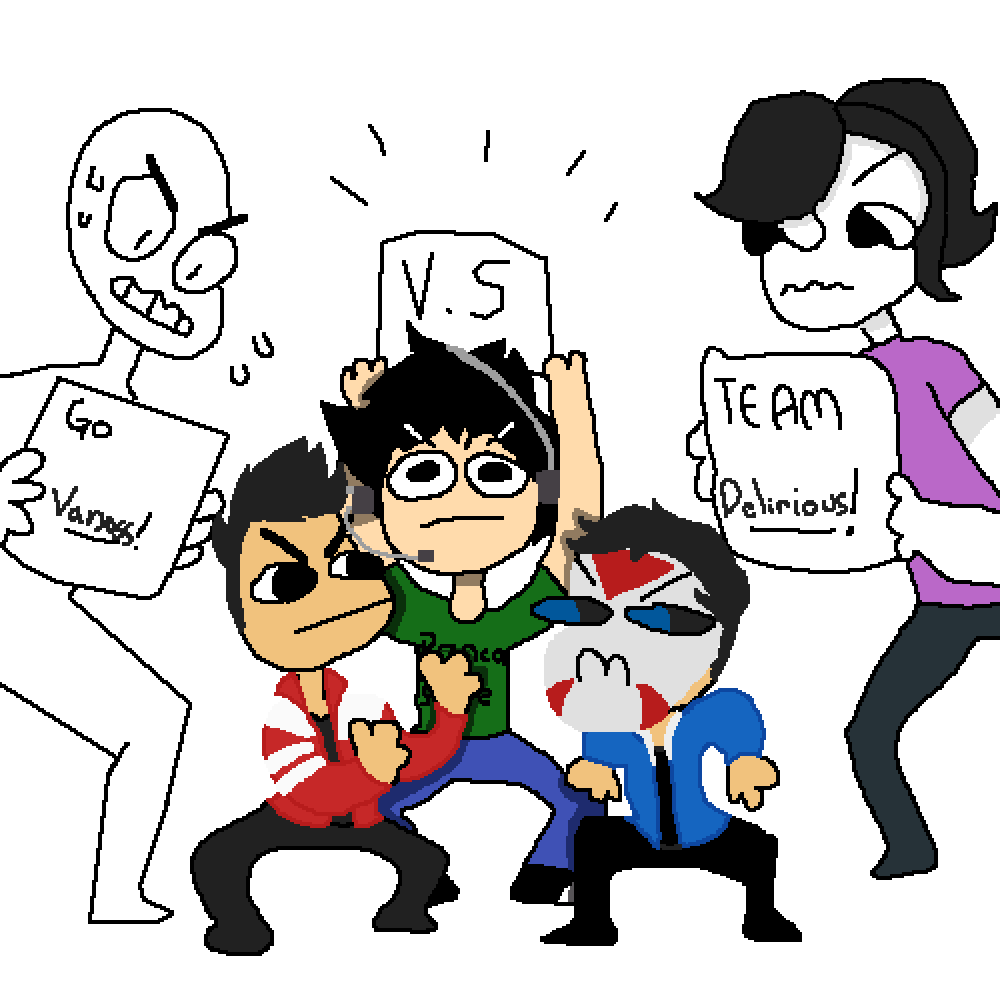 TEAM DELIRIOUS FOREVER!!!!!!! by That-1-Kid