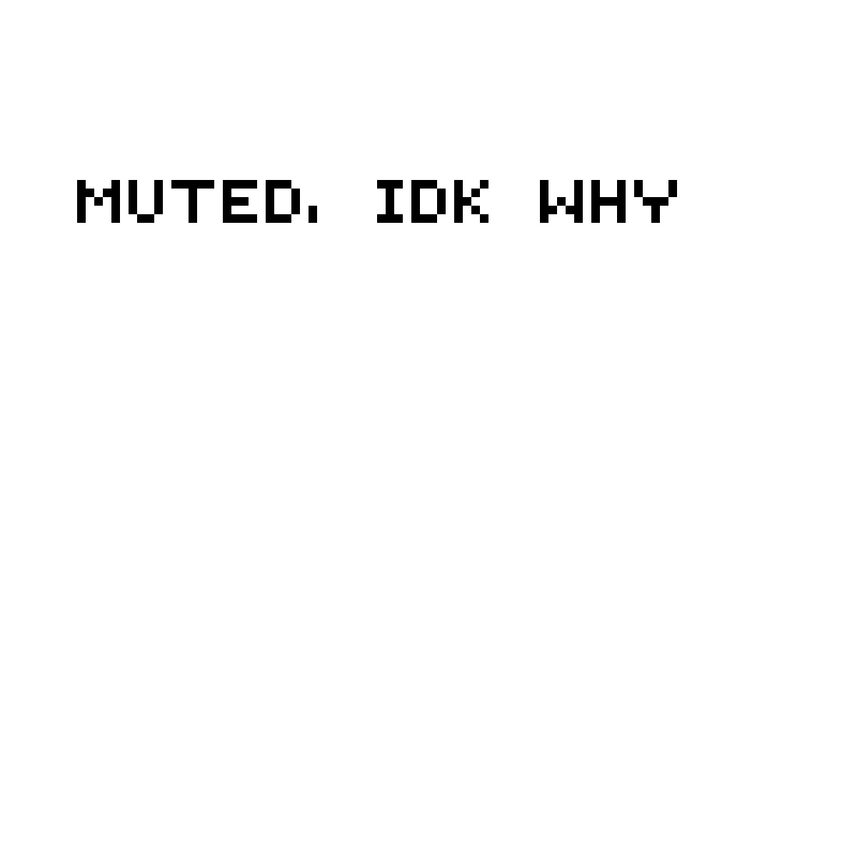 Muted T_T by KillerScythe